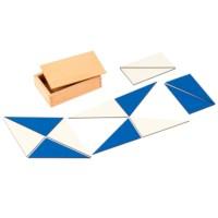 12 Identical Blue Triangles
