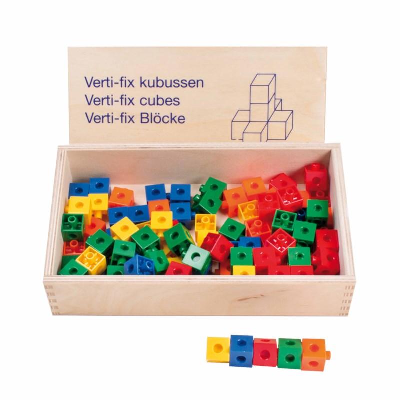 Verti-fix snap cubes