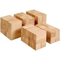 Large wooden building blocks (156)