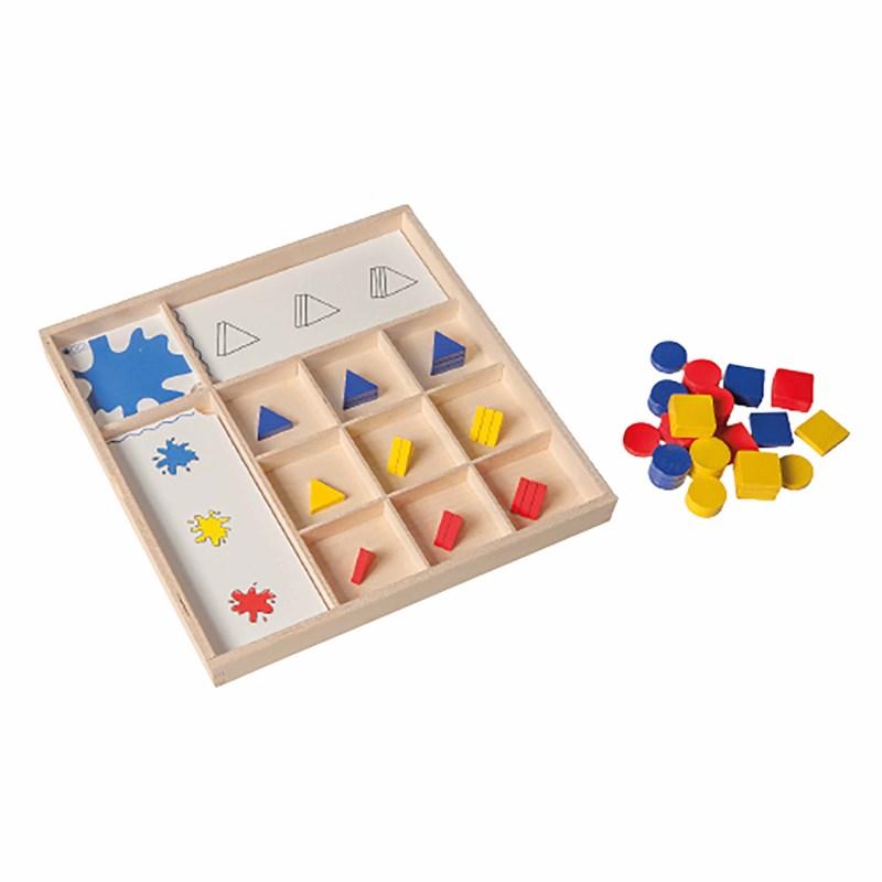 Matrix 3-D shapes