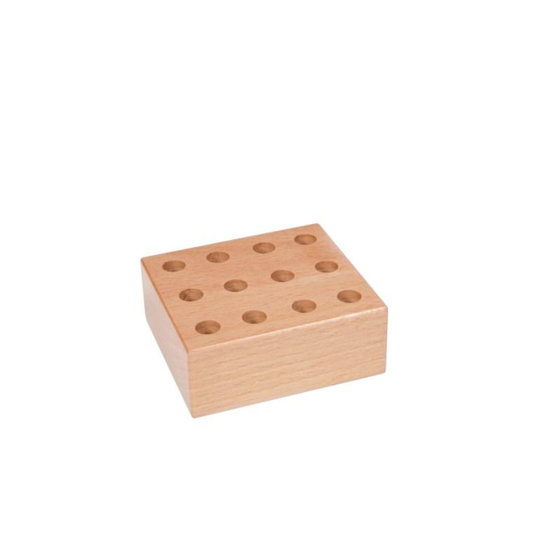 12 hole Jumbo pencil block