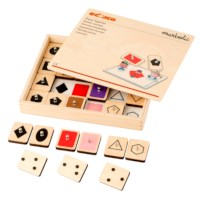 Shape Together l Interactive stamp set l Educo