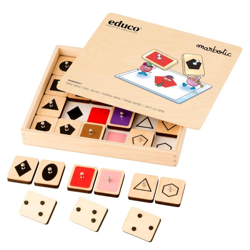 Shape Together l Interactive stamp set l Educo