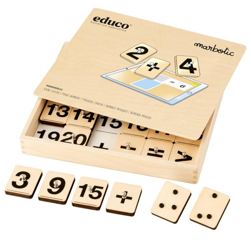 Magic Numbers l Interactive stamp set l Educo