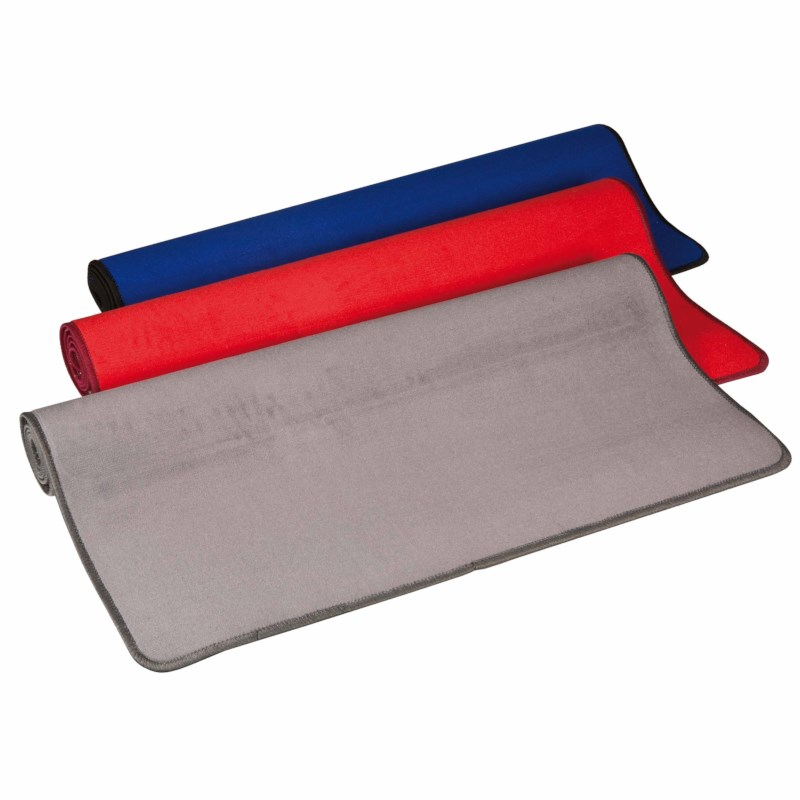 Grey building mat