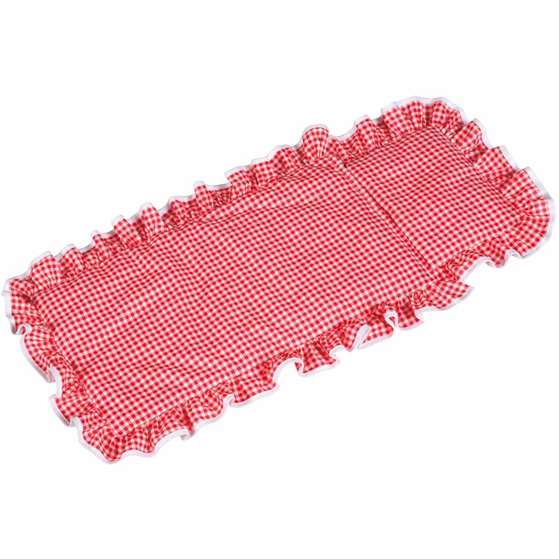 Pillow and blanket, red