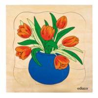 Growth puzzle - tulip