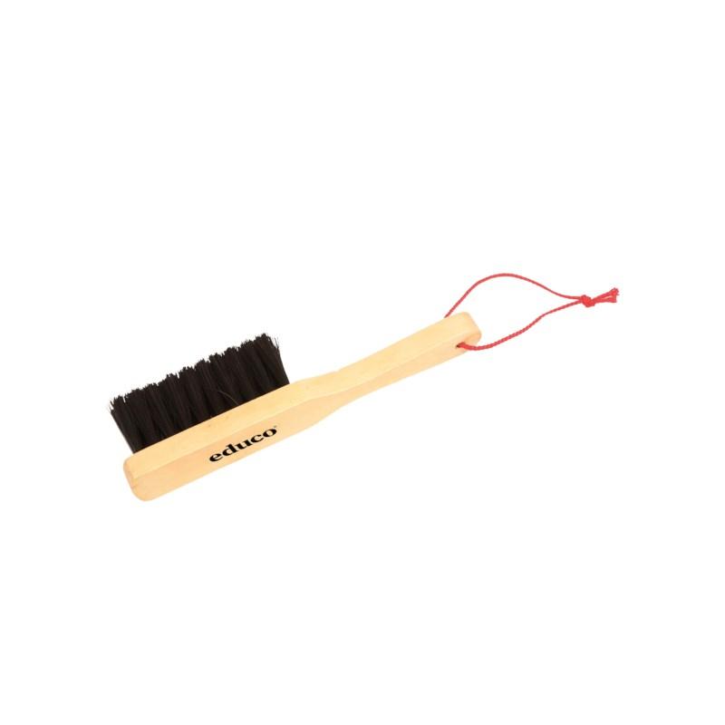 Hand brush wood