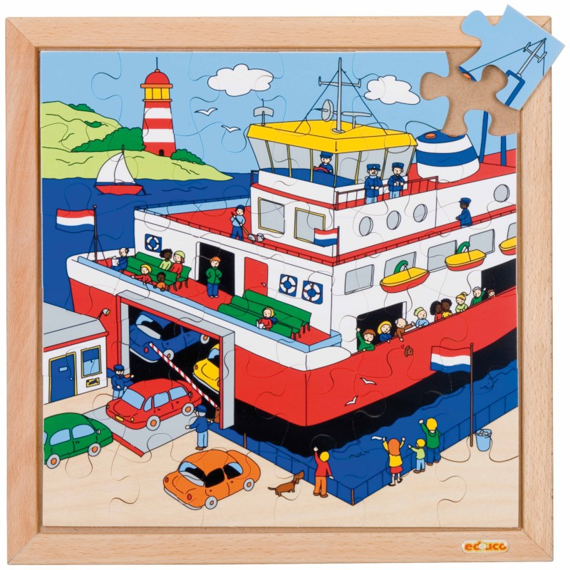 Transport puzzle - ferry