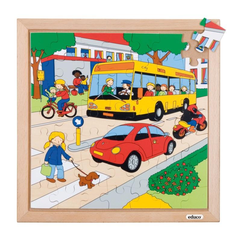 Transport puzzle - traffic