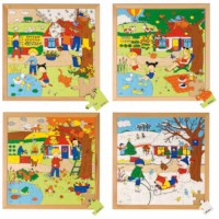 Season puzzles 2 - set of 4