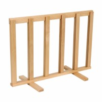 Wooden game stand