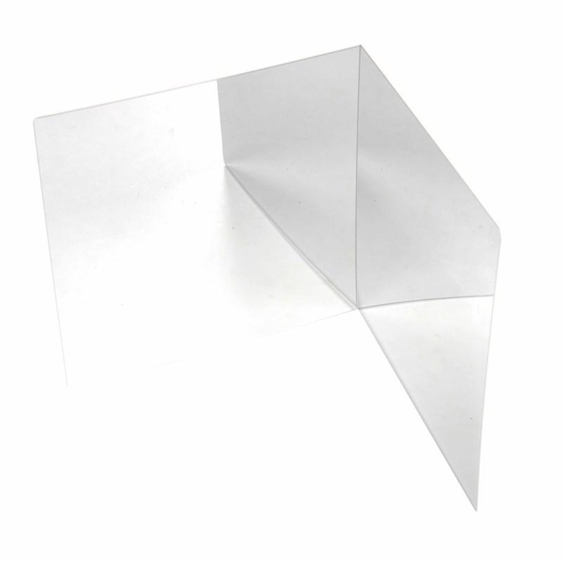 Additional plastic safety mirror