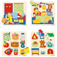 Knob puzzle surprise - bedroom