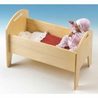 Doll crib wood