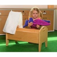Doll crib wood