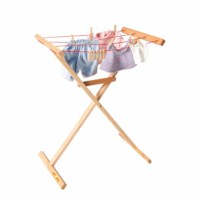 Doll clothes airer wood