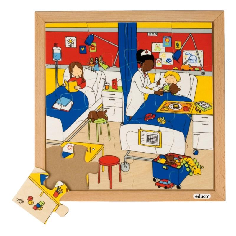 Health puzzle - hospital