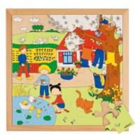 Seasons puzzle 2 - spring