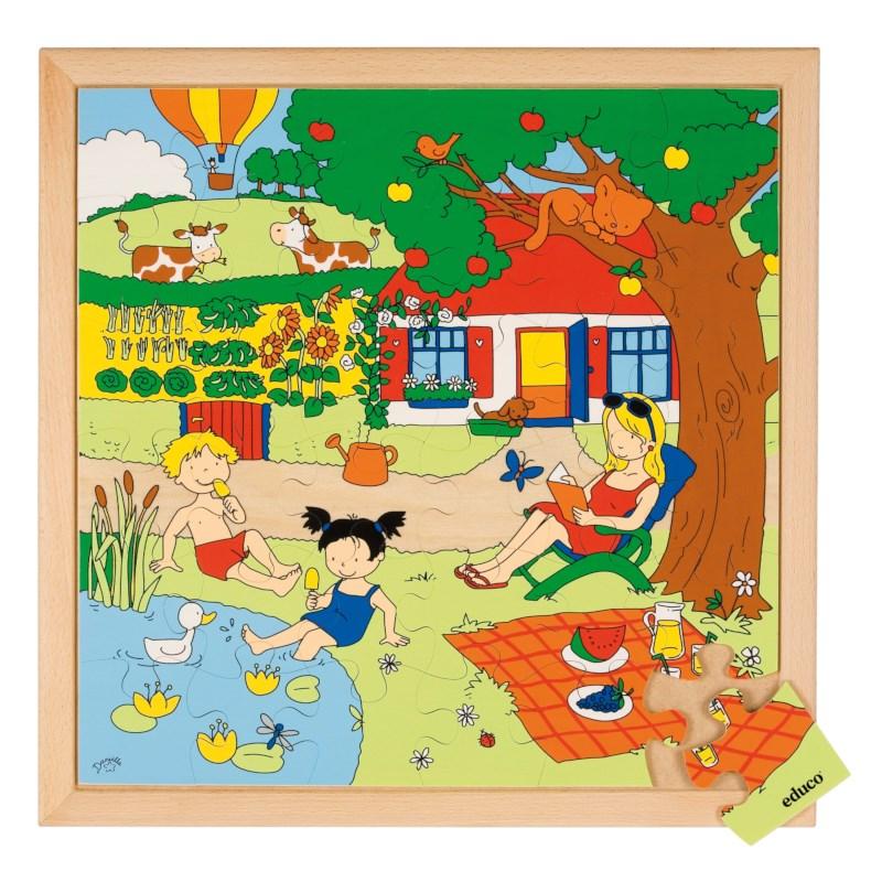 Seasons puzzle 2 - summer