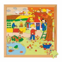 Seasons puzzle 2 - autumn