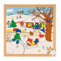 Seasons puzzle 2 - winter