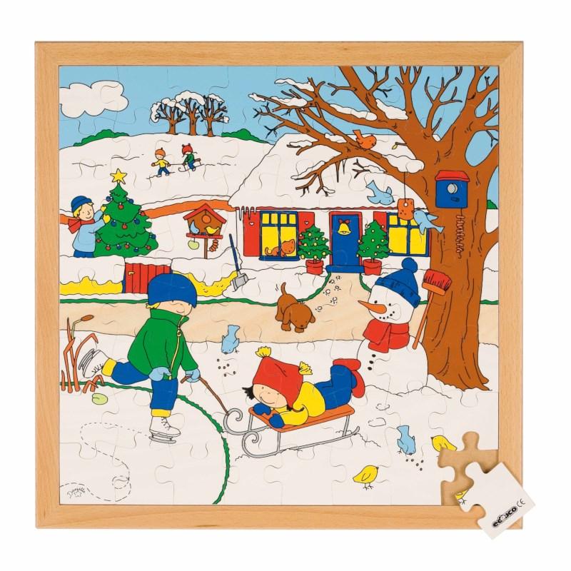 Seasons puzzle 2 - winter