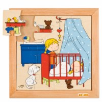 Baby puzzle - sleeping