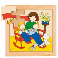 Baby puzzle - eating