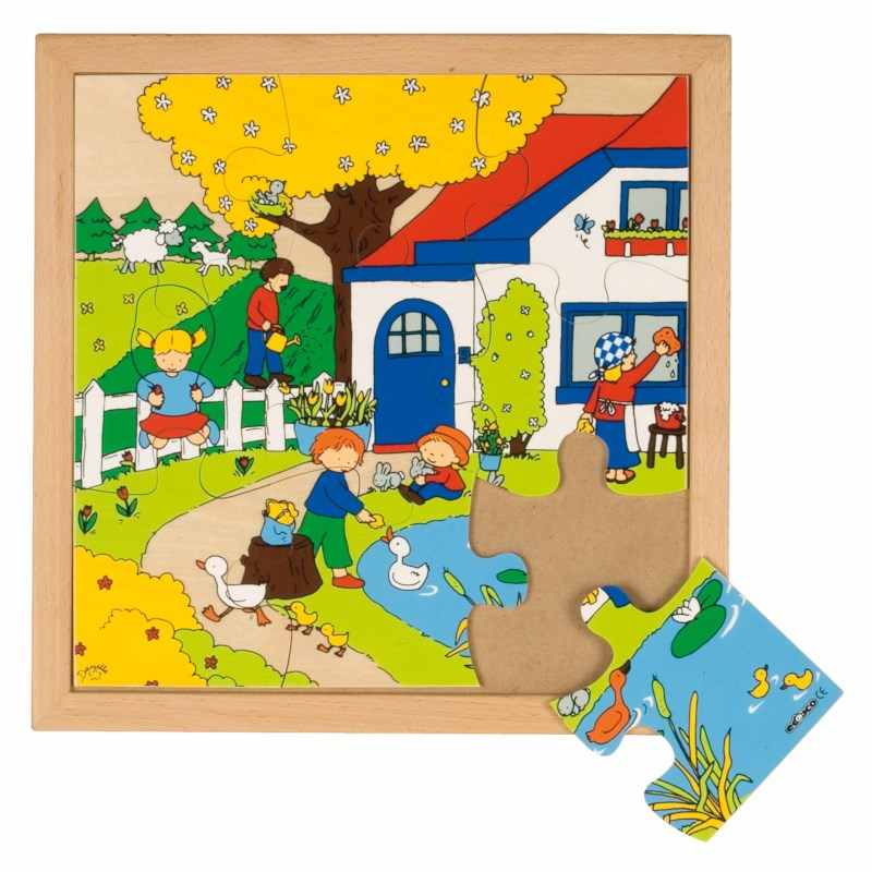 Seasons puzzle 1 - spring