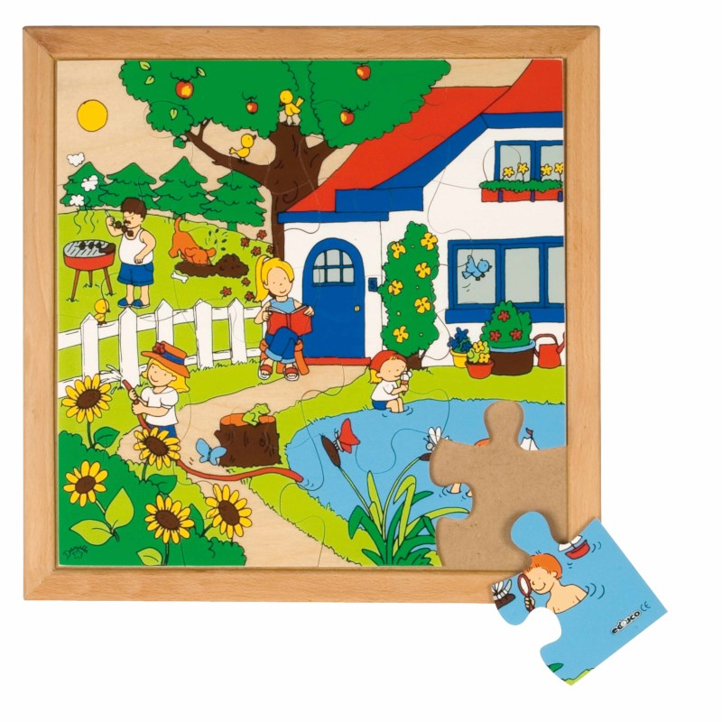 Seasons puzzle 1 - summer