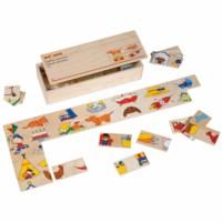 Halves dominoes