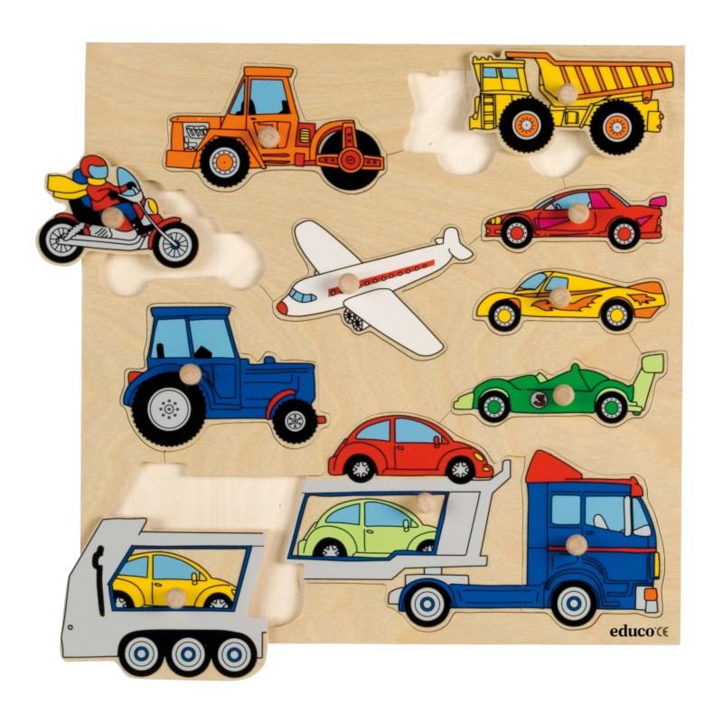 Knob puzzle - vehicles (11)