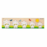 Inlay board puzzles - sheep