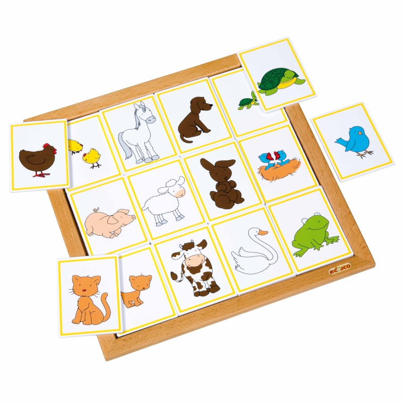 Sorting lotto - animals and their babies