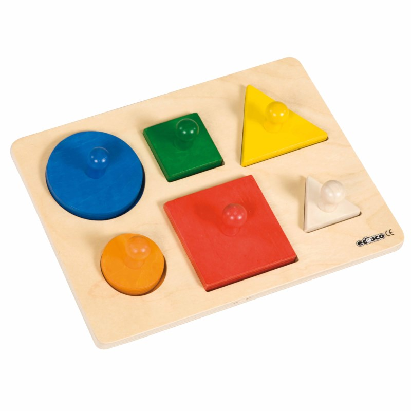 Shape sorting puzzle