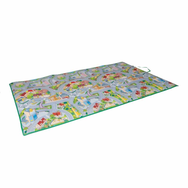 Play mat 120 x 200 cm - city