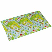 Play mat 120 x 200 cm - farm/zoo