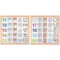 Counting diagrams 11 -15 + 16-20