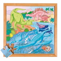 Dino puzzle - in the water