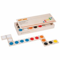 Colour dominoes