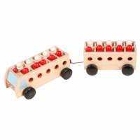 Math bus with trailer - mini