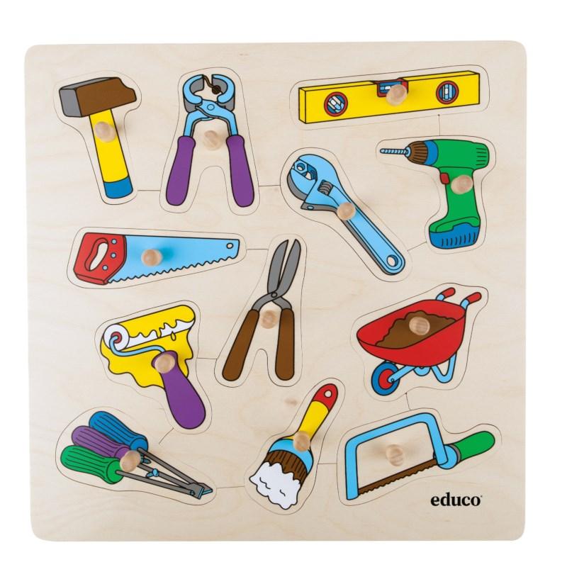 Knob puzzle -  tools