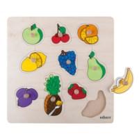 Knob puzzle - fruit