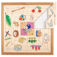 Spider sorting puzzle - quantities