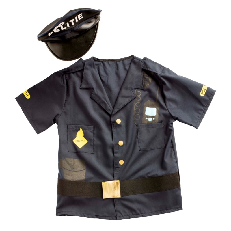 Dress up clothes - police (incl. hat)